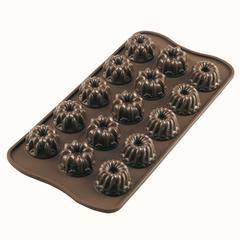 Форма для приготовления конфет и пирожных Fantasia 11х21см силиконовая Silikomart
