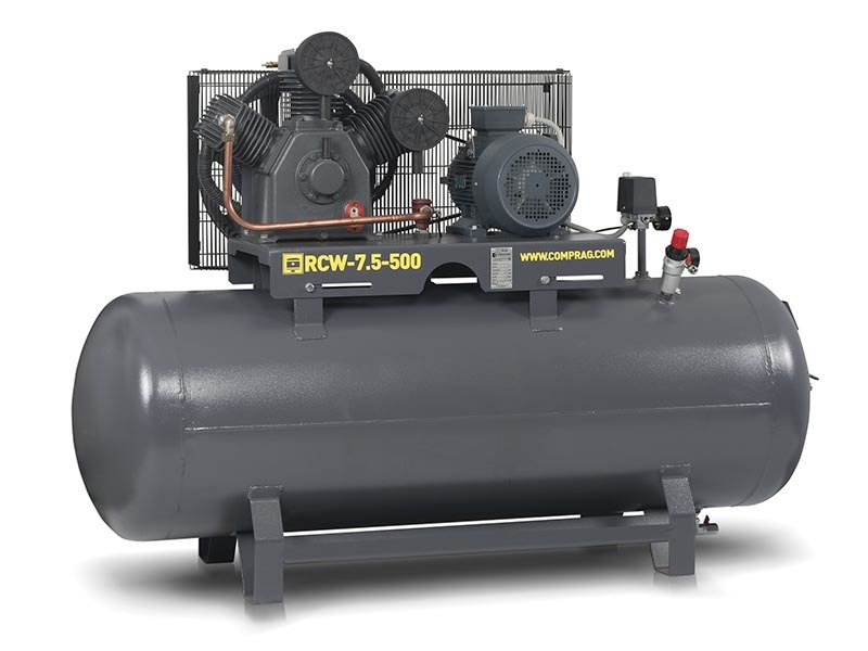 Компрессор поршневой Comprag RCW-7,5-500