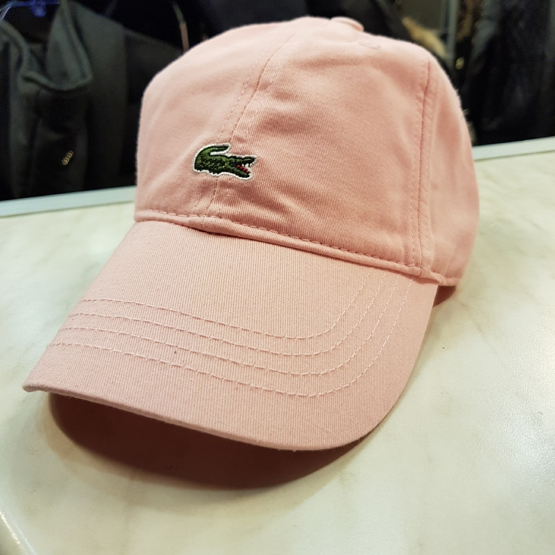 Кепка Lacoste 568126pink