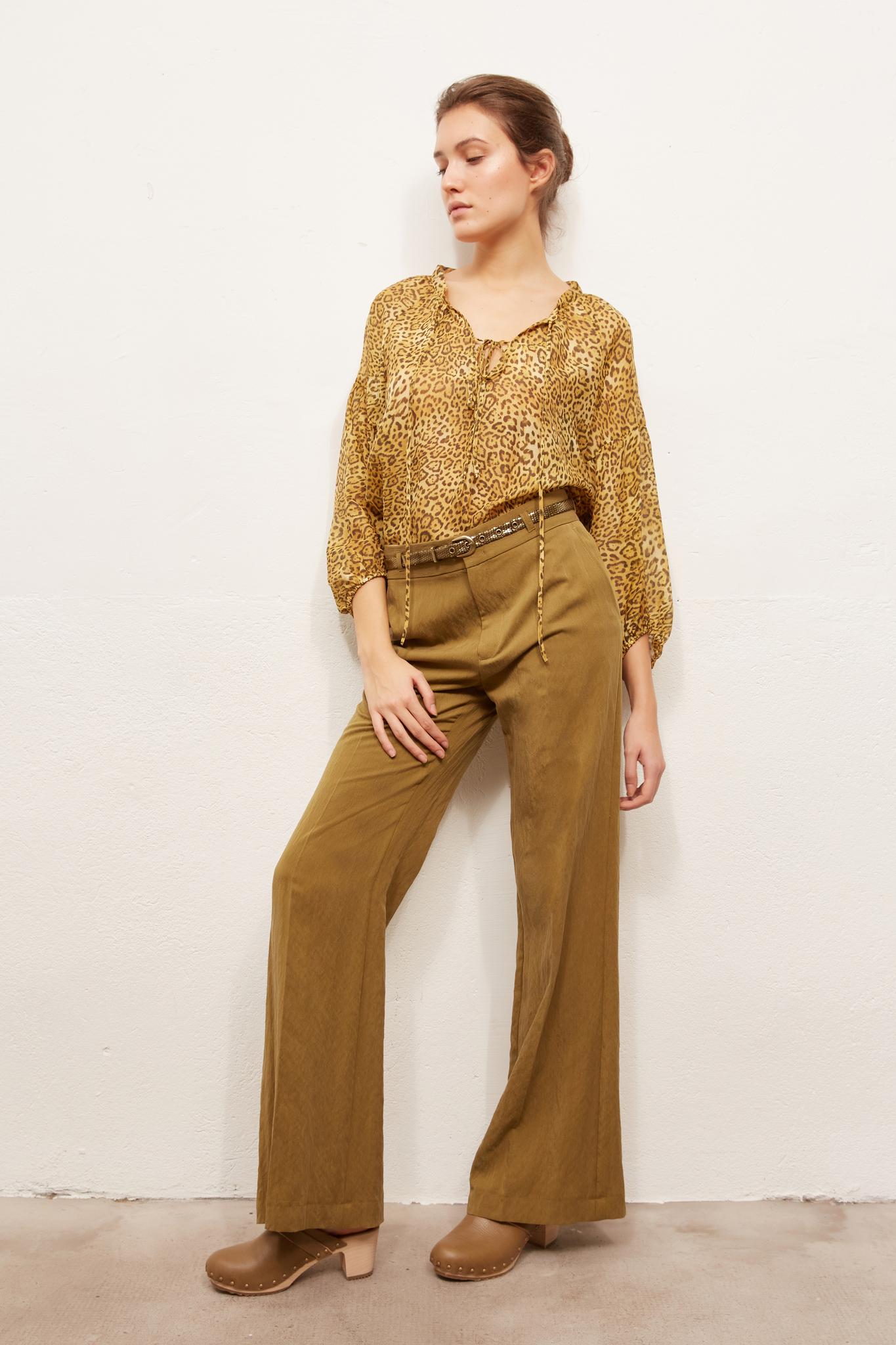MAYURA - Широкие брюки с высокой посадкой