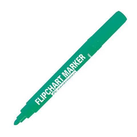 Маркер д/флипчартов CENTROPEN FLIPCHART 2,5 мм зелен. круглый