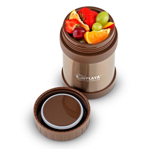 Термос для еды LaPlaya Food Container (0,35 литра), коричневый