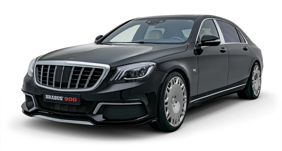 Обвес Brabus для Mercedes Maybach W222 рестайлинг