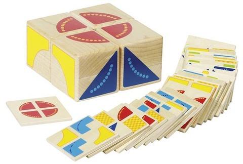 58649 Логическая игра Кубики Goki