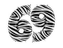 Г Цифра 6/9, Zebra (Зебра), 40