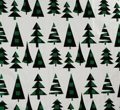 Плёнка упаковочная голография «Ёлочки», 100 × 70 см, 5 листов.