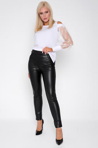 <p>Отличная весенняя новинка - брюки из эко-кожи. Удачная модель на каждый день. Длины: (44р-98,46р-99,48р-100, 50р-101,52р-102).</p>