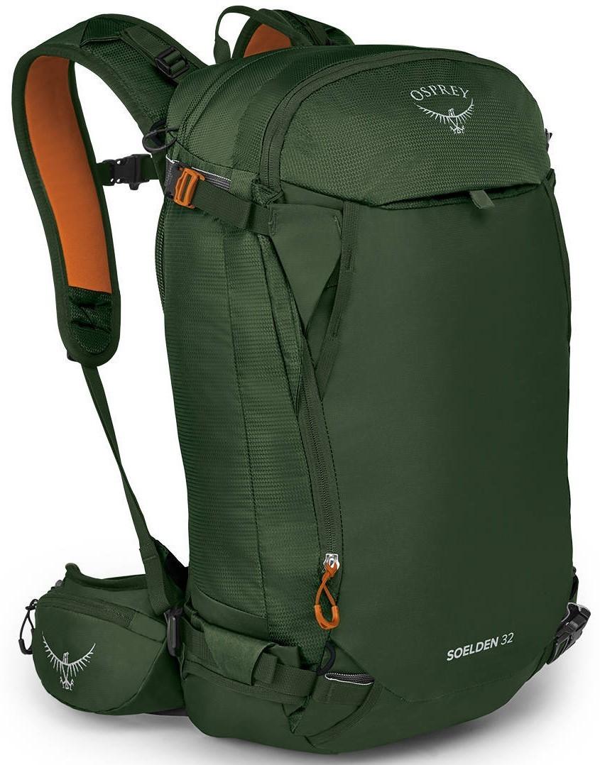 Рюкзаки для сноуборда Рюкзак Osprey Soelden 32 Dustmoss Green Soelden_32_F20_side_dustmossgreen_web.jpg