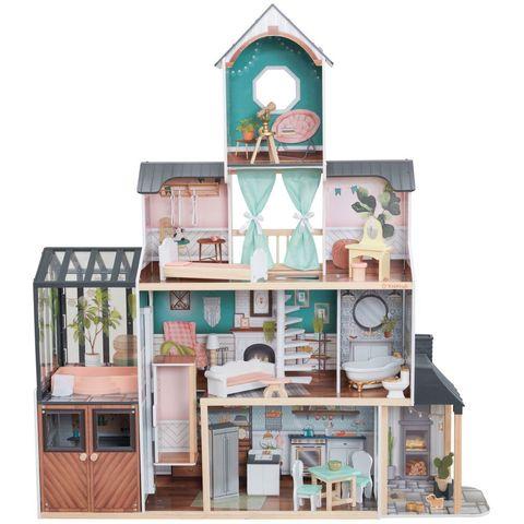 KidKraft Особняк Селесты - кукольный домик с мебелью 65979_KE