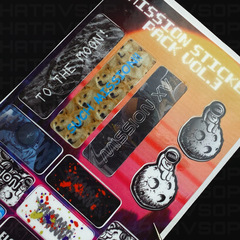MISSION STICKERS Vol. 3 – 14 PACK by MISSION XV
