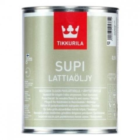 Tikkurila Supi Lattiaolju / Супи Латиаолью масло для пола в бане и влажных помещениях