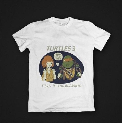 Футболка TMNT Back in the Shadows - M. Женская
