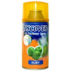 Сменный баллон для автоматического освежителя Discover Ruby Яблоко 320 мл