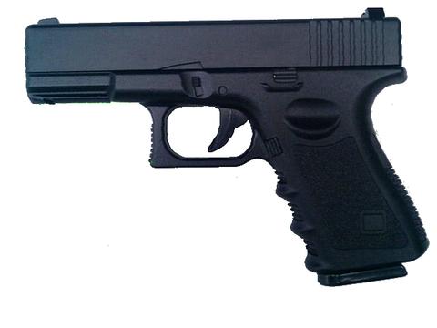 Cтрайкбольный пистолет Galaxy G.15 Glock металлический, пружинный