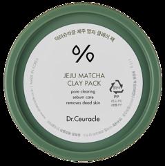 Глиняная очищающая маска с матчей, 115 гр. Dr Ceuracle Jeju Matcha Clay Pack
