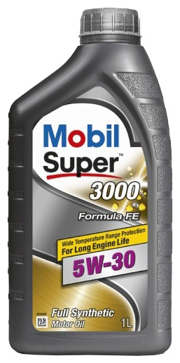 152565 , 152055 MOBIL SUPER 3000 X1 FORMULA FE 5W-30 (1 Литр)  купить на сайте официального дилера Ht-oil.ru
