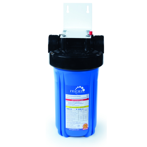 Корпус магистрального фильтра предварительной водоочистки Гейзер 10ВВ без ниппелей.