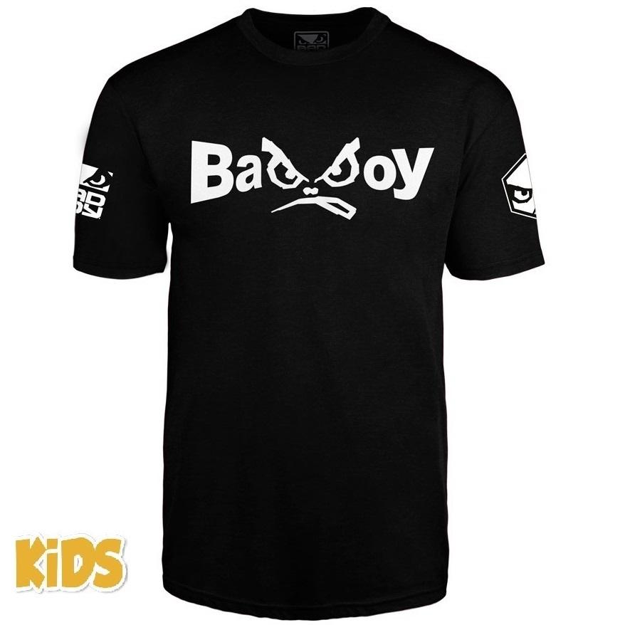 Детские футболки Футболка детская Bad Boy Retro 2.0 T-shirt Black 1.jpg