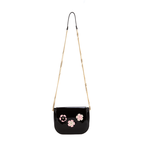 0496 GT лак черный  (сумка женская)
