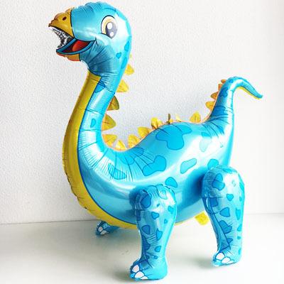 Шар-ходячка Динозавр Диплодок Голубой