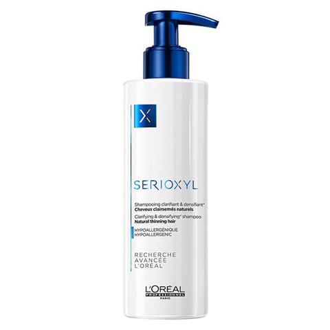 L'Oreal Professionnel Serioxyl: Шампунь для натуральных волос (Shampooing Clarifiant Natural Thinning Hair), 250мл/1л