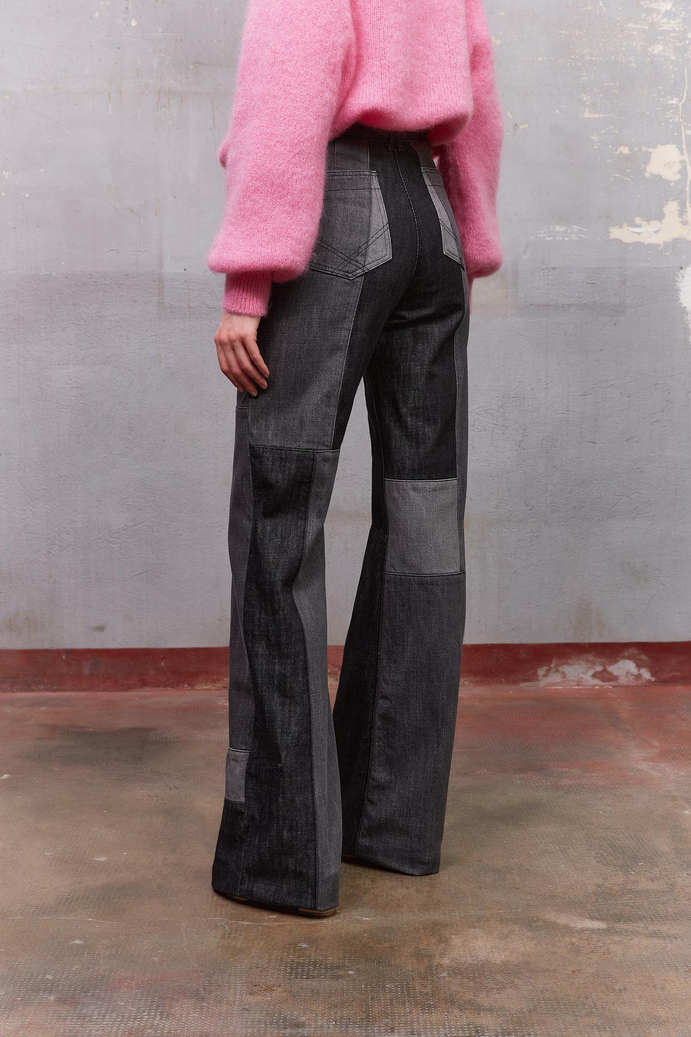 EDENE - Расклешенные джинсы с завышенной талией