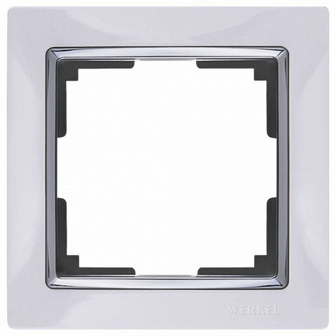 Werkel Рамка W0011901 (WL03-Frame-01) белый/хром