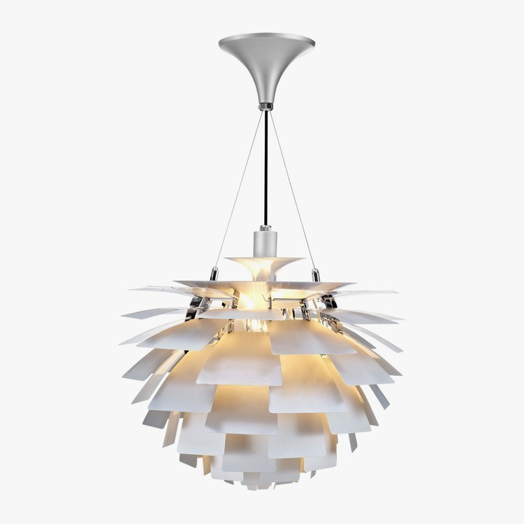 Подвесной светильник PH Artichok by Louis Poulse D50 (белый)