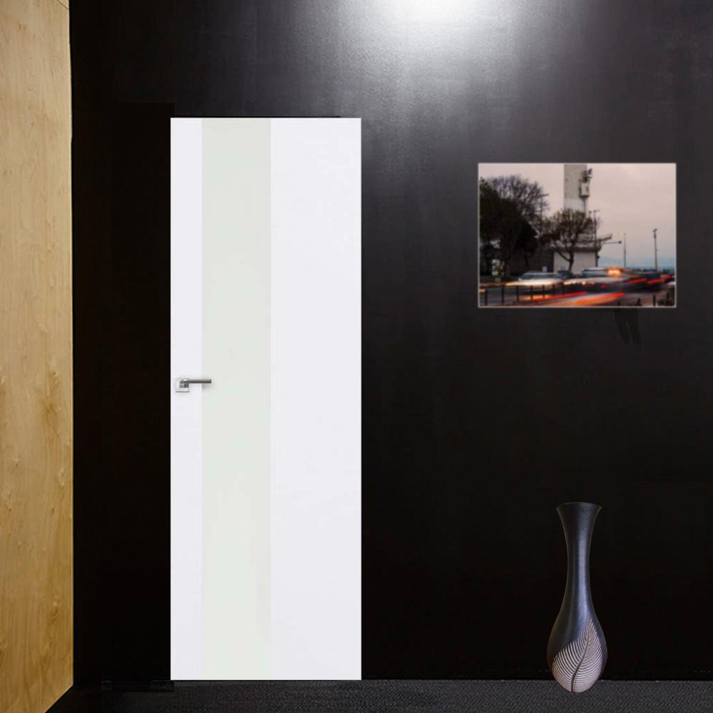Скрытые двери Скрытая межкомнатная дверь Profil Doors 5E аляска с алюминиевой кромкой и внешним открыванием sd-5e-alaska-beloe-steklo-dvertsov.jpg