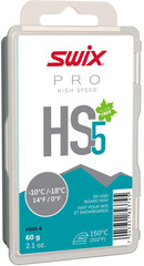 Парафин Swix HS05-6 turquoise, -10°C/-18°C, 60g