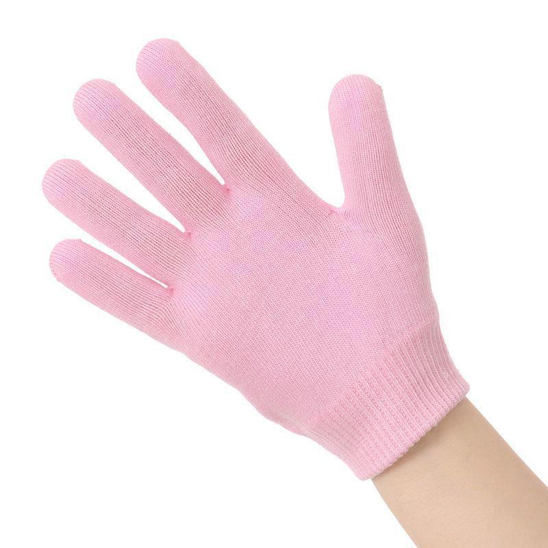 Увлажняющие спа-перчатки с гелевым слоем: от сухой кожи и трещин на руках, 1 пара