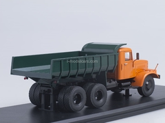 KRAZ-256B1 Tipper orange-green 1:43 Start Scale Models (SSM)