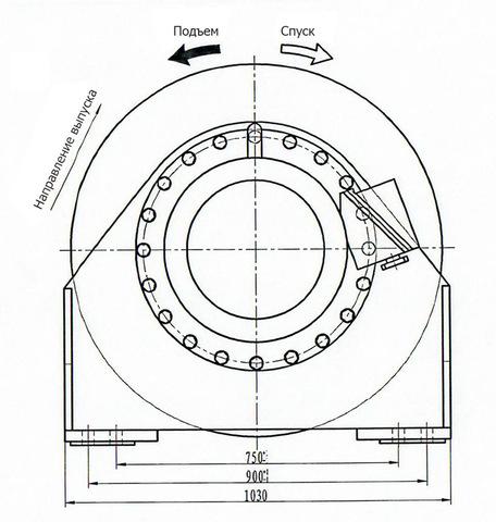 Компактная электрическая лебедка IDJ355-150-120-32