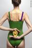 Купальник Лямка colour | травяной