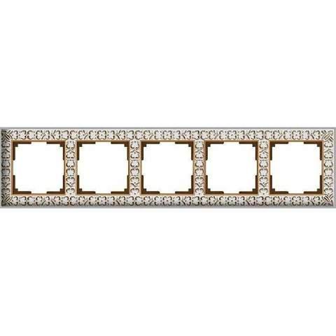 Werkel Рамка W0051523 (WL07-Frame-05) белое золото
