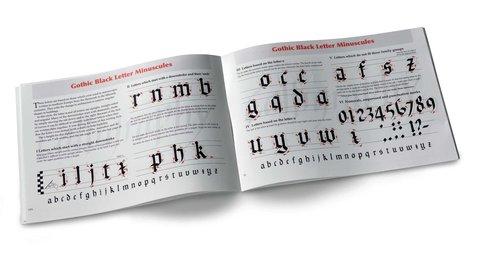 Книга обучающая по каллиграфии Manuscript Manual, A5