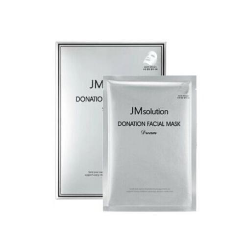 Маска для интенсивного питания и придания сияния коже с пептидным комплексом JMsolution Donation Facial Mask Dream