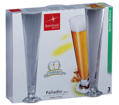 Набор из 3 бокалов для пива «Palladio», 390 мл, фото 2