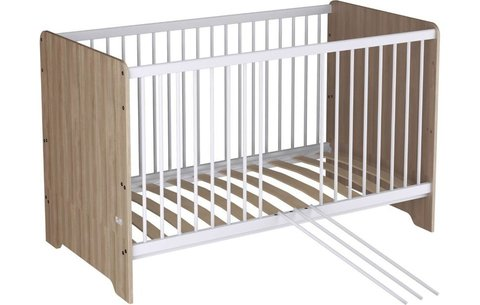 Кроватка детская Polini kids Simple Nordic 140х70 см, вяз, РОССИЯ