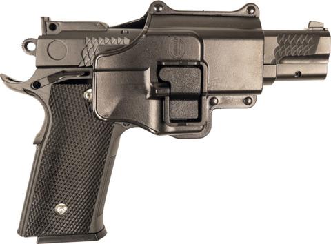 Страйкбольный пистолет Galaxy G.20+ Browning металлический, пружинный