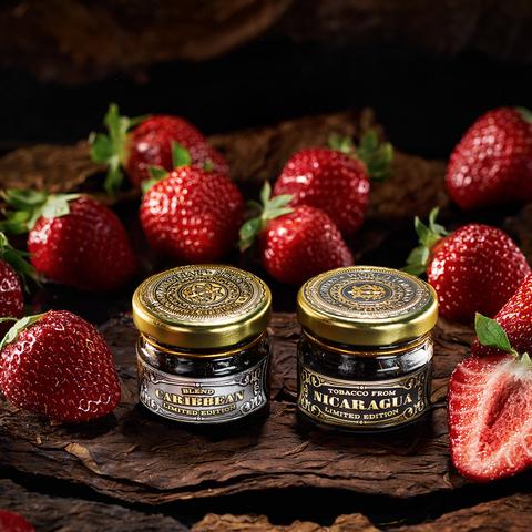 Табак для кальяна WTO 200 г Caribbean Blend CB07 Strawberry (Клубника)