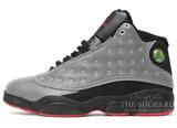 Кроссовки Мужские Nike Air Jordan XIII Grey Black Red