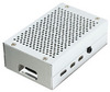 Корпус для Raspberry Pi 4 (LT-4B01 / алюминий / серебристый)