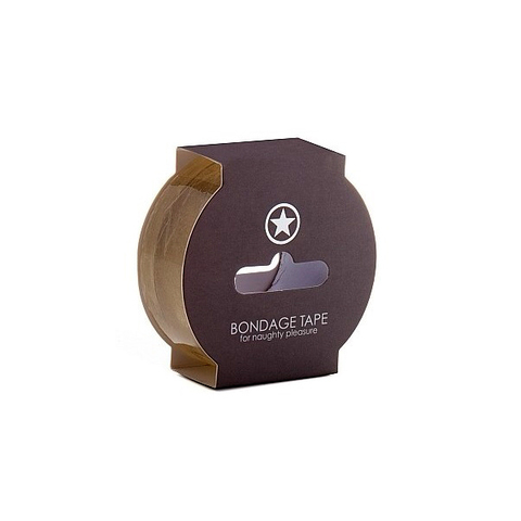 Shots Лента для связывания прозрачная Non Sticky Bondage Tape Transparent