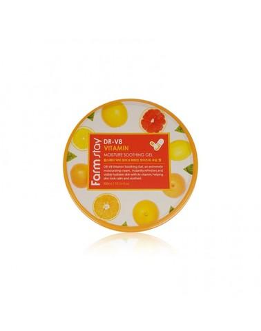 FarmStay Многофункциональный витаминный гель DR-V8 Vitamin Moisture Soothing Gel 300 мл