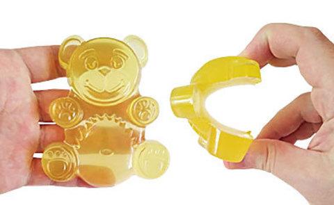 Игрушка медведь желтобрюх прозрачный