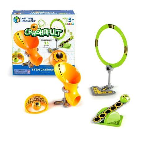 LER9287 Развивающая игрушка Попади в цель Базовый (серия Crashapult STEM) Learning Resources