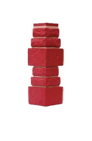 Угол наружный Дикий Камень - Красный