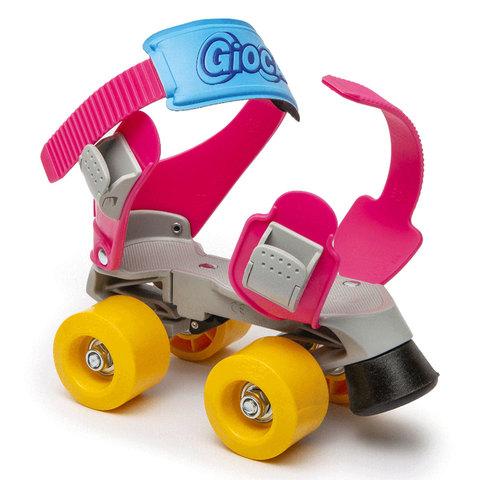 ItalTrike. Ролики-квады Gioca MiniJet, розовые