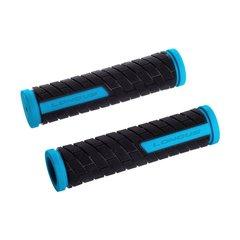 Ручки руля LONGUS, GRID, сине/черные